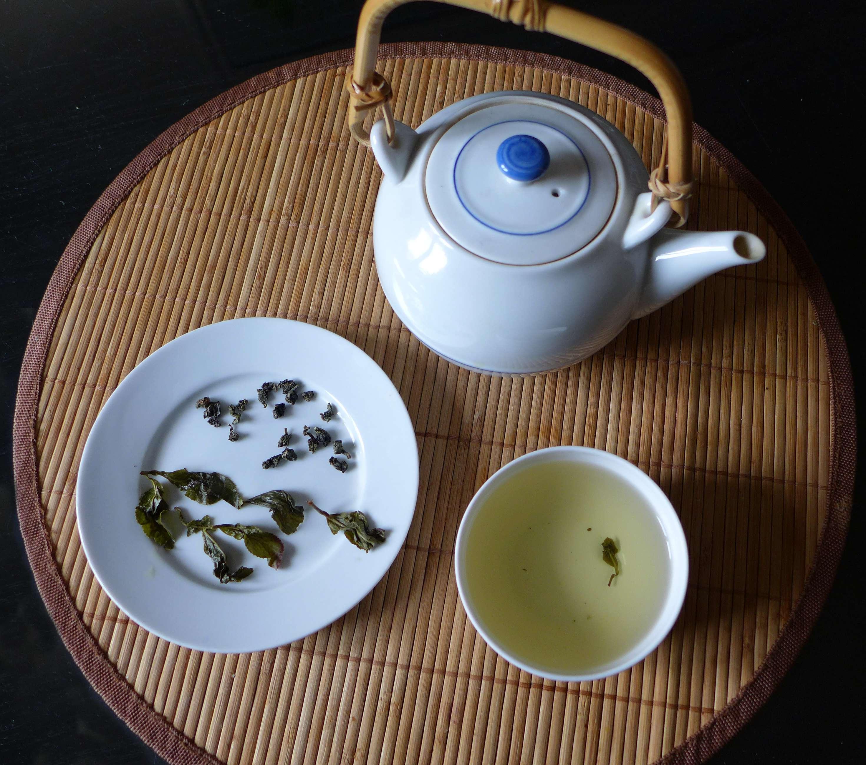 Thé bleu wulong