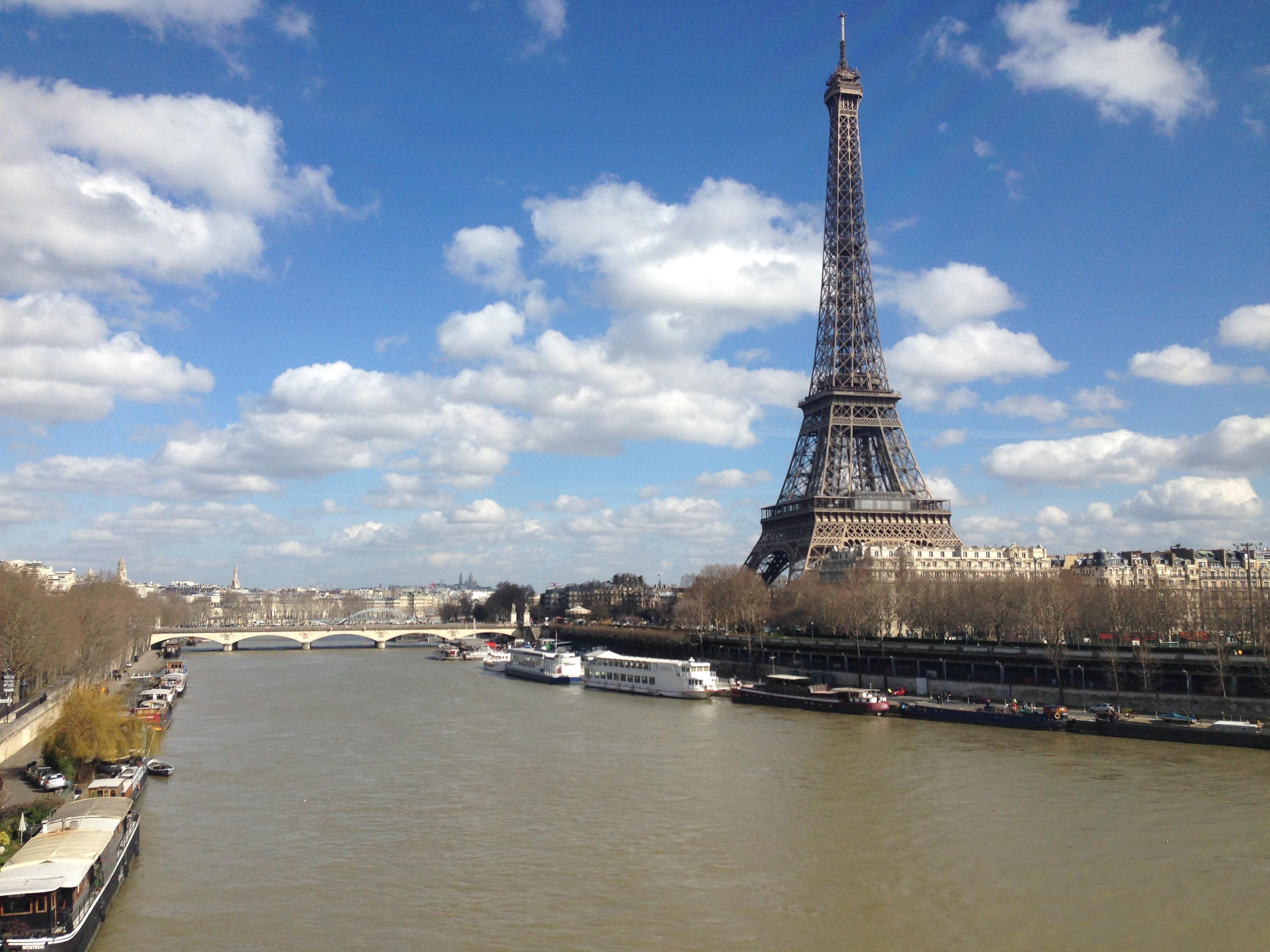 Eiffel Tower Dimensions Eiffel Tower by The Seine