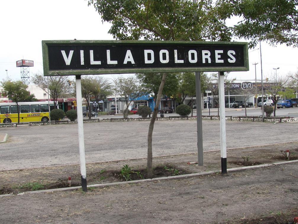 Estación Villa Dolores - Wikipedia, la enciclopedia libre