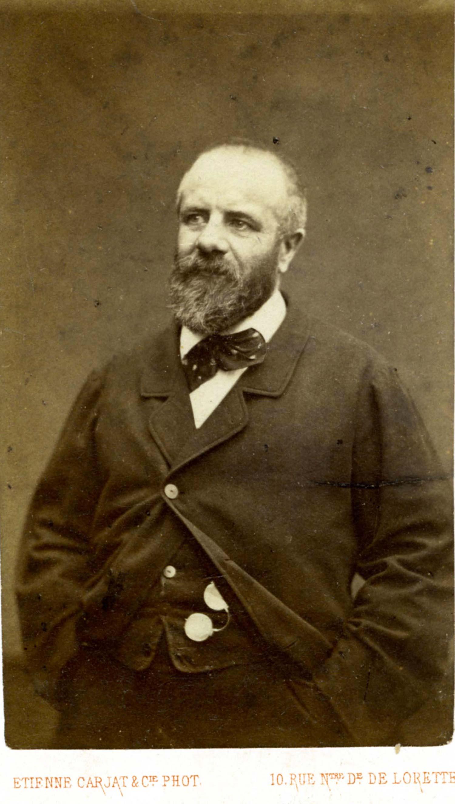 Eugène Pottier entre 1870 y 1875