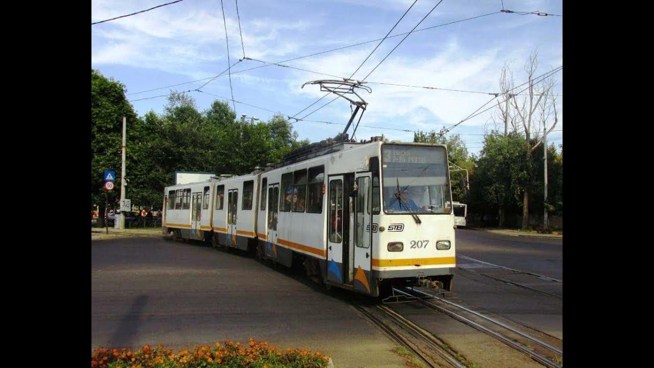 Tramwaj FAUR-V3A linii 3 na wystawie Boulevard