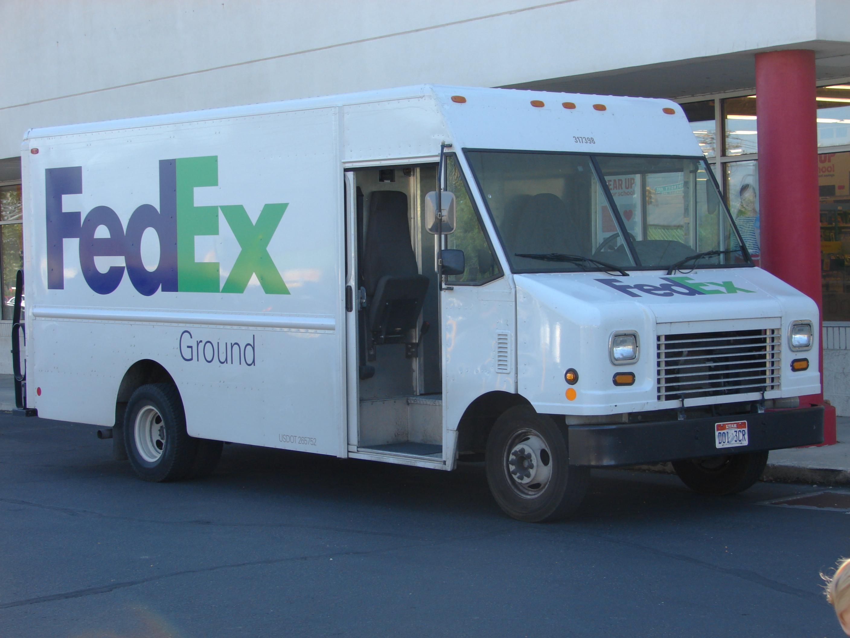 File Fedex Ground Delivery Van Jul 15 Jpg Wikimedia Commons