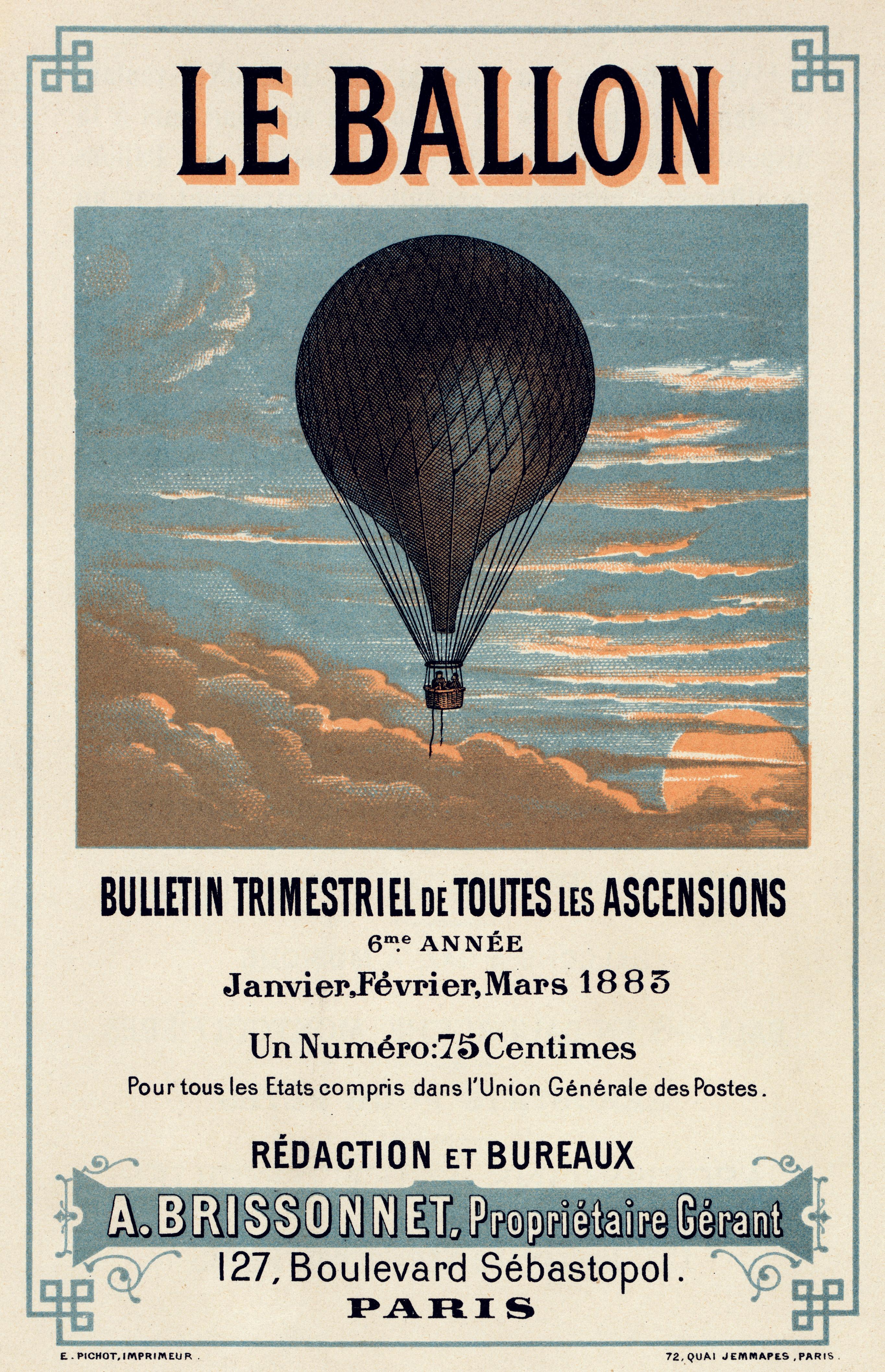 Bulletin Trimestriel de Toutes les Ascensions - Paris (1883)