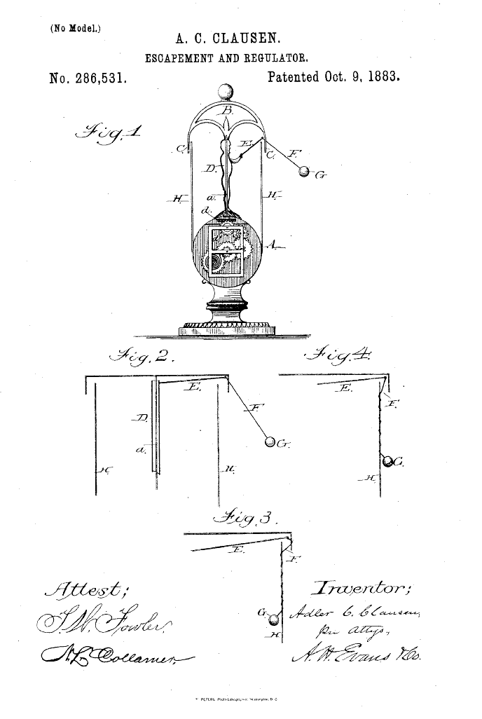 Flying Pendulum Clock Wikipedia