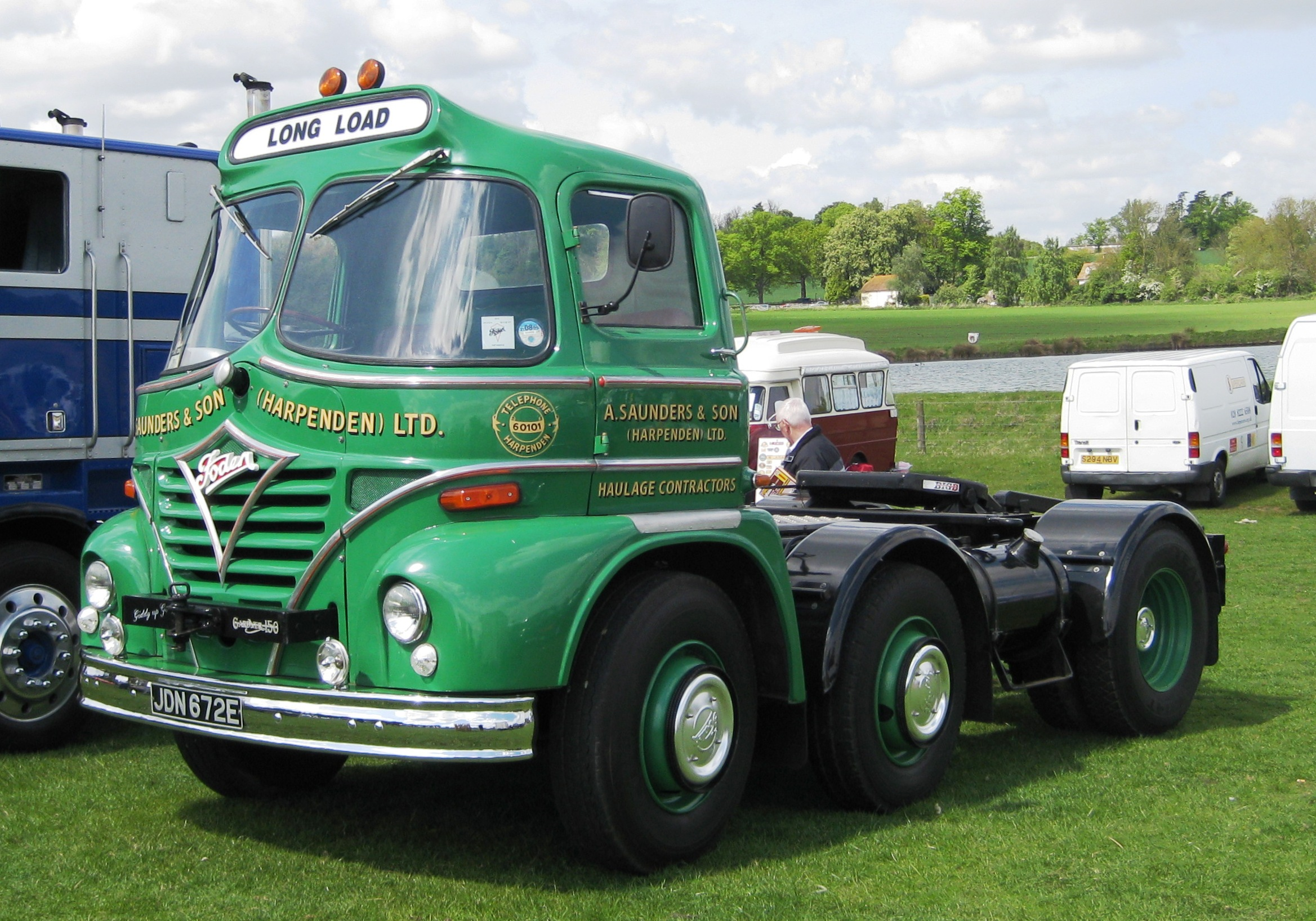File Foden Heavy Truck Unit With Gardner 150 Engine Jpg