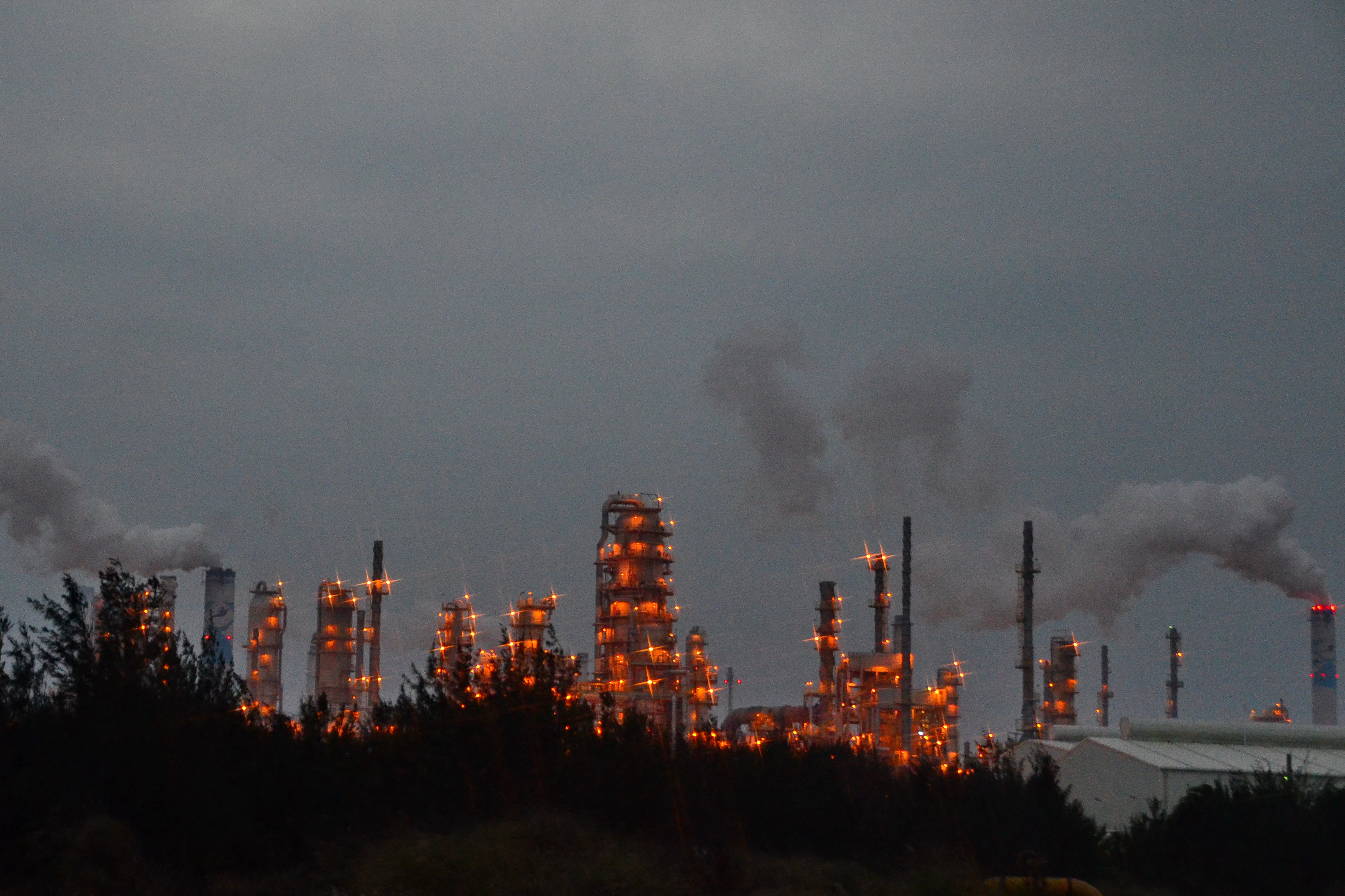 Yunlin Taiwan  City pictures : ... Group Mail Liao Industrial Complex%2C at dusk%2C Yunlin Taiwan