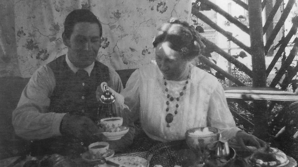 dateifoto wassily kandinskys von franz und maria marc