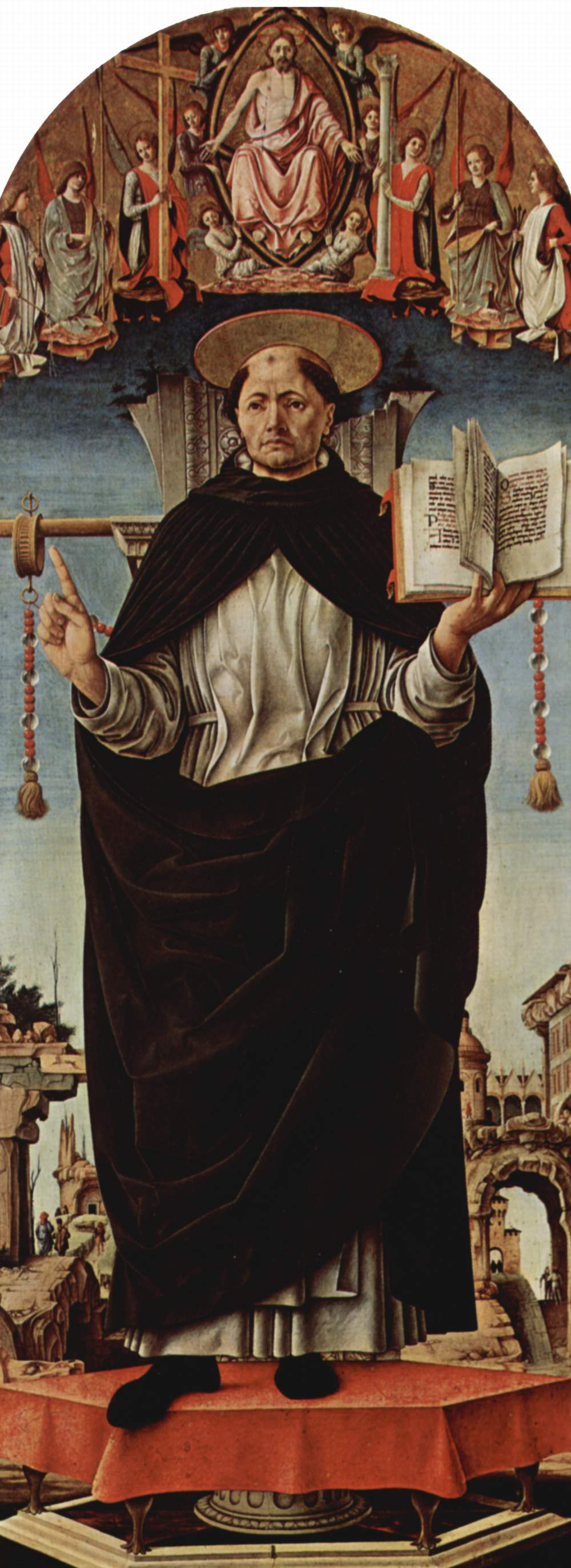 San Vicente Ferrer por Francesco del Cossa