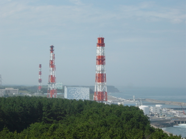 Map of Fukushima I Power Plant