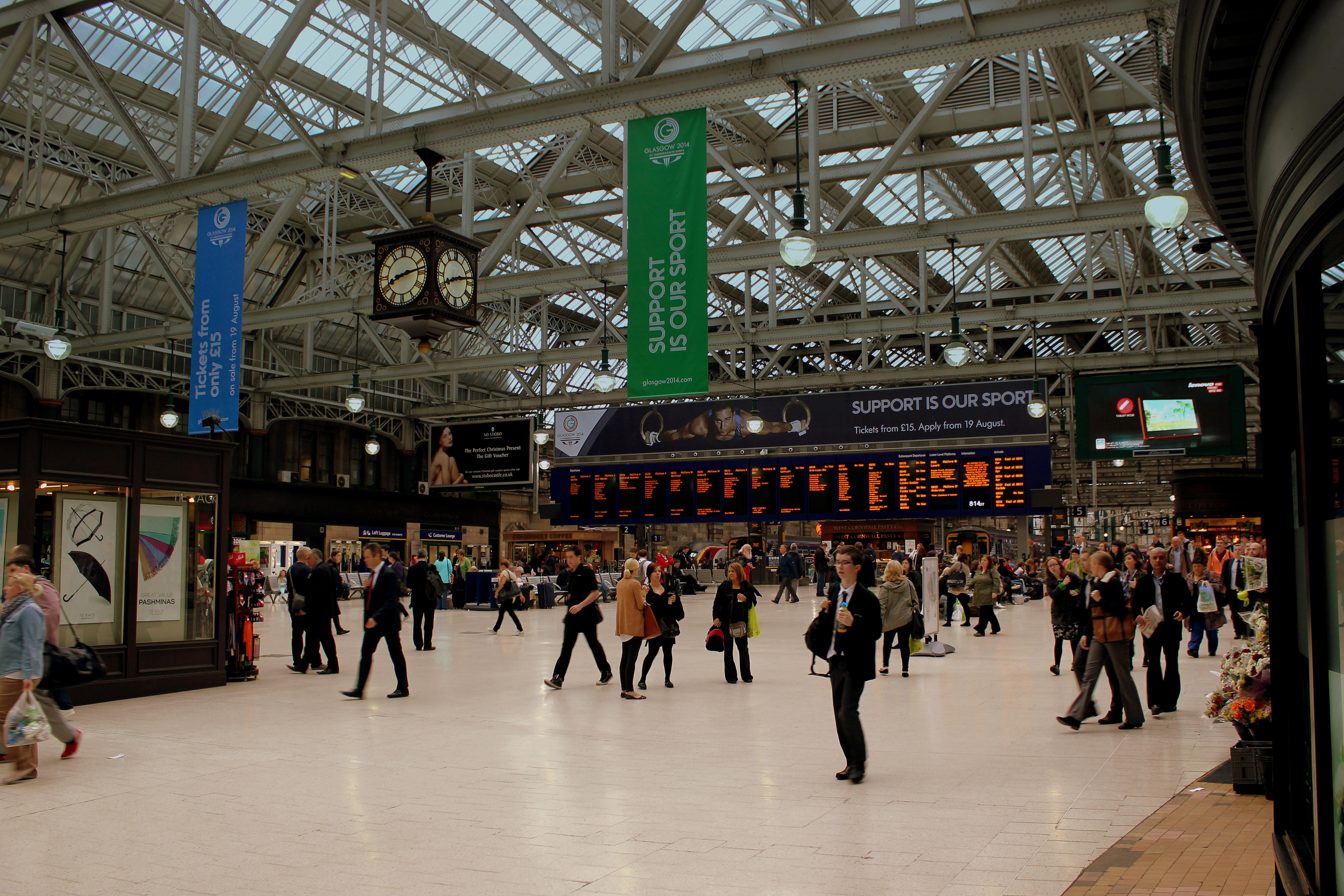 Glasgow Central station - Wikipedia