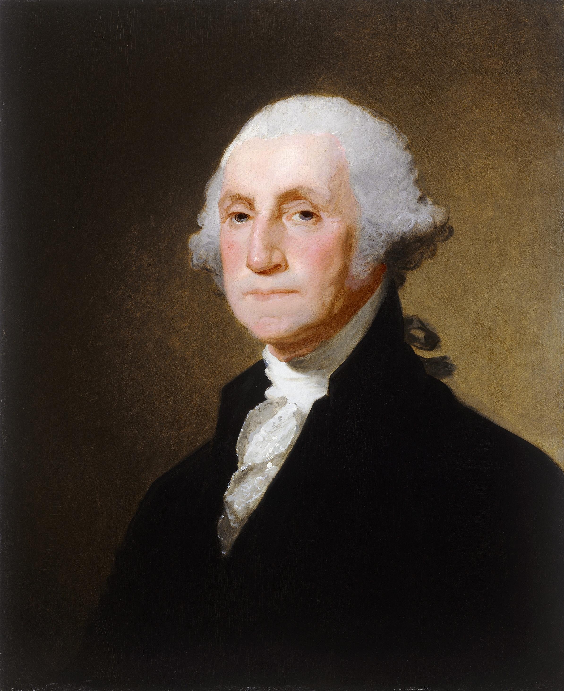 File:George Washington - by Gilbert Stuart - c. 1821 ... George Washington