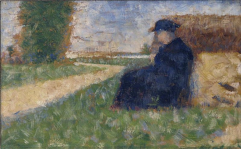 File:Georges Seurat - Figure massive dans un paysage à Barbizon PC 27.jpg