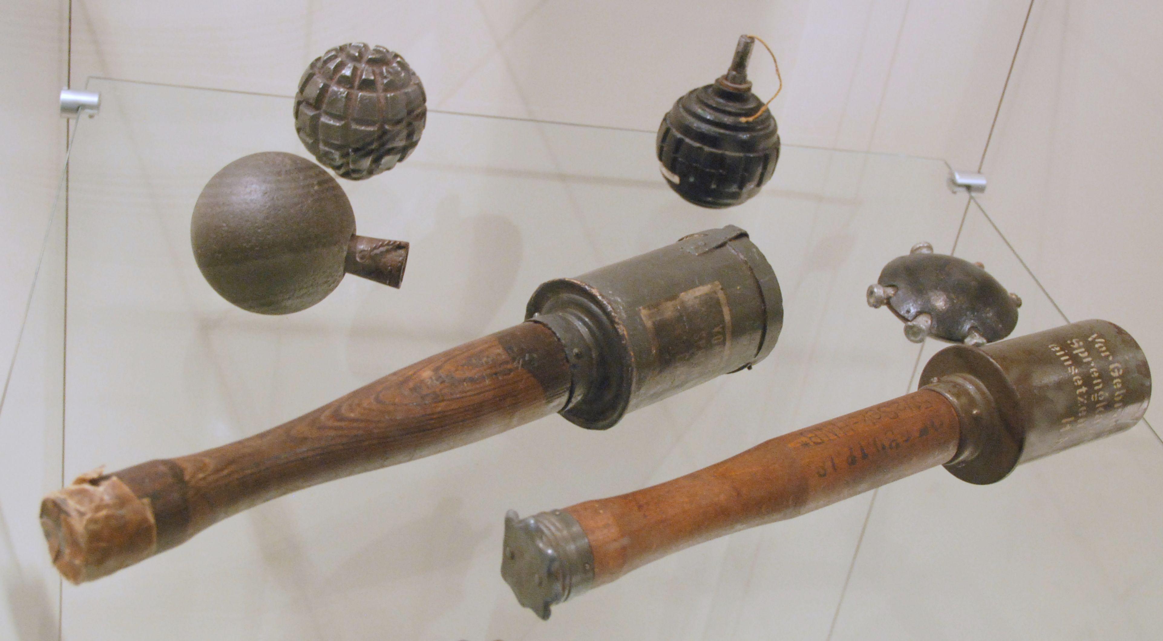 File:German grenades WWI Memorial de Verdun.JPG ... Grenades In World War 1