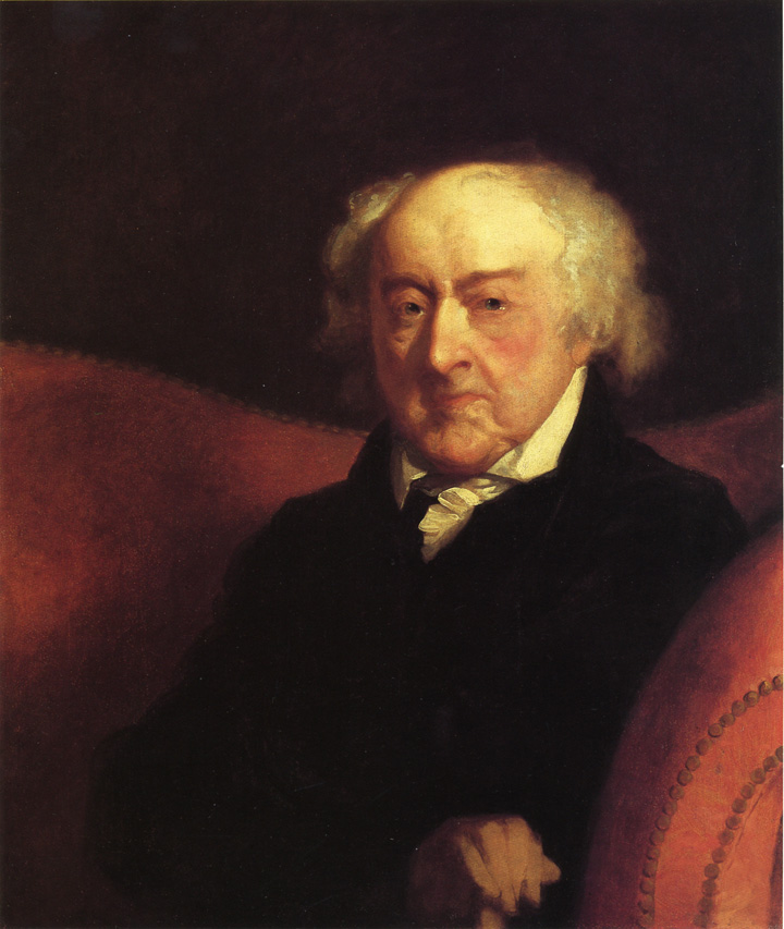 To the washington portraits on view were john adams c 1800 1815