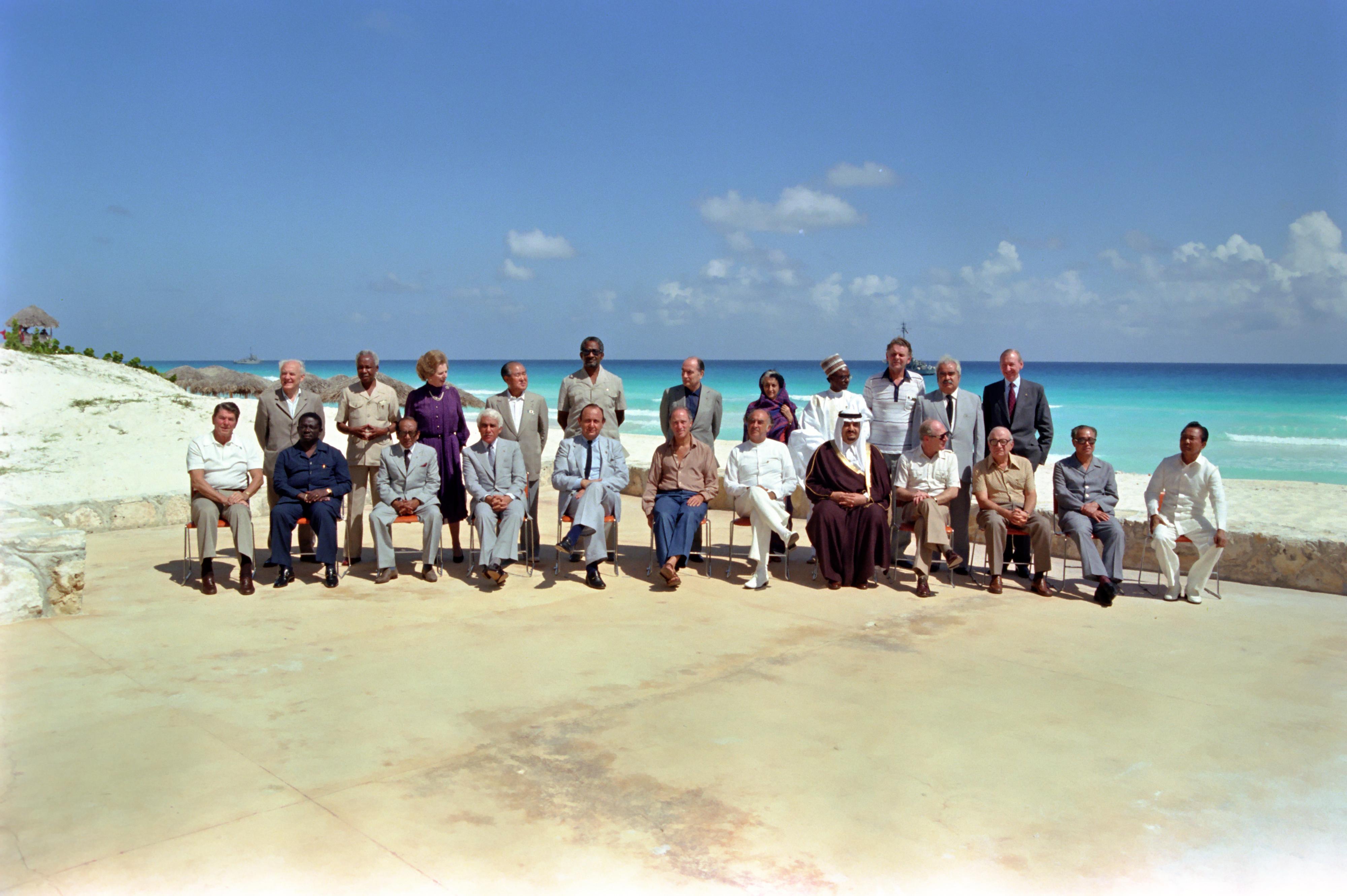 Heads of State Cancun Summit 1981.jpg
