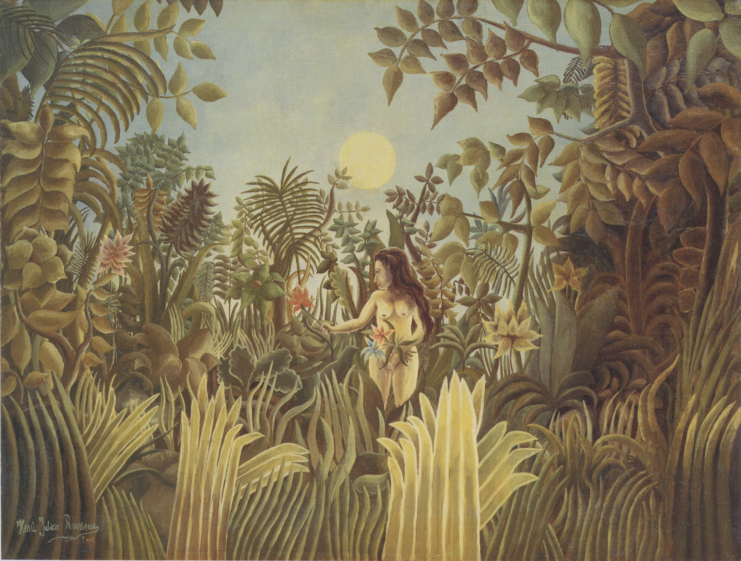 File:Henri Rousseau - Eve in the Garden of Eden.jpg - Wikimedia Commons