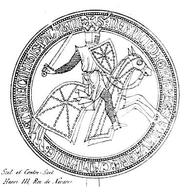 Dibujo del sello por Anne Franco̧is Arnaud