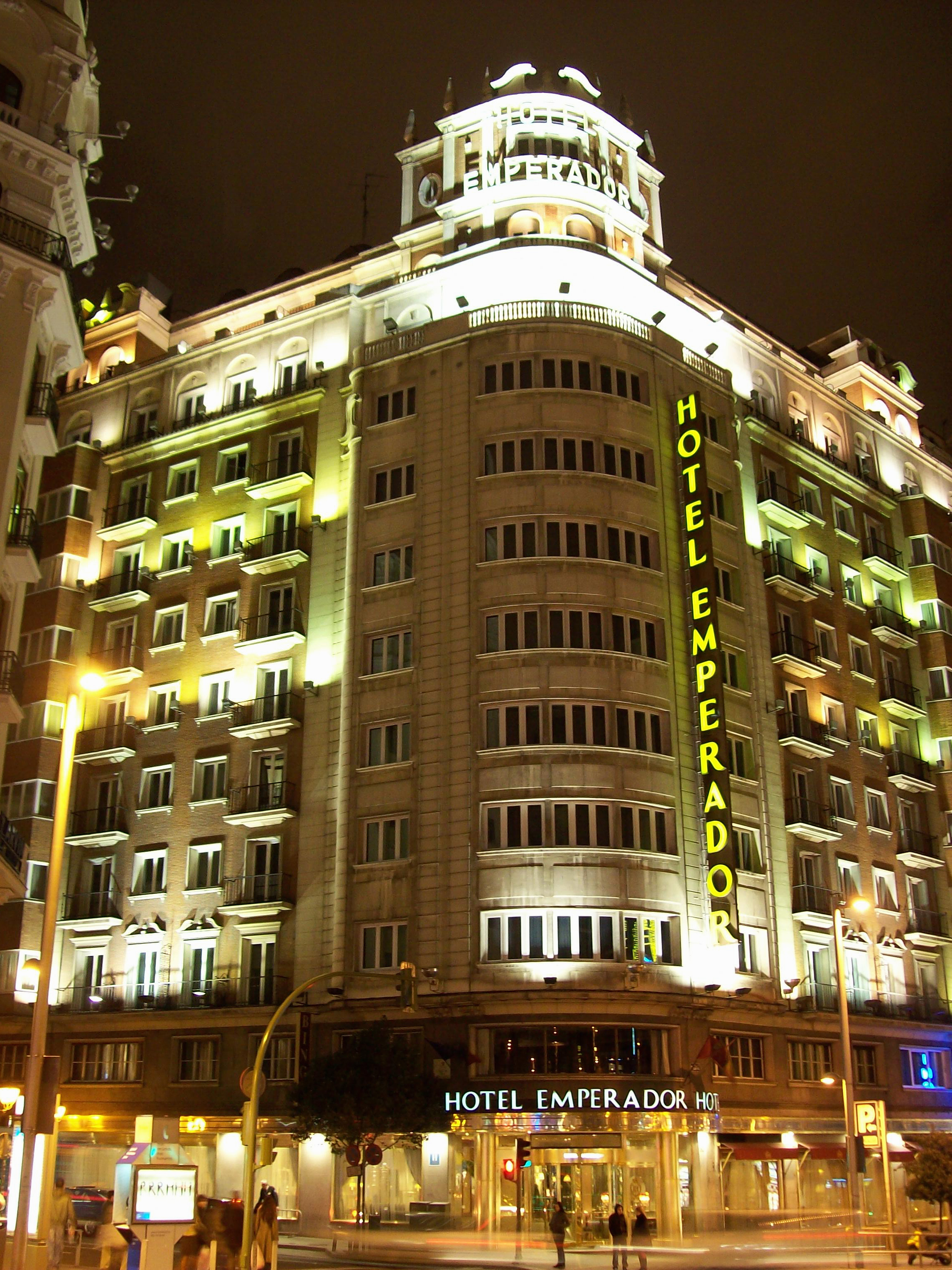 File Hotel Emperador Madrid