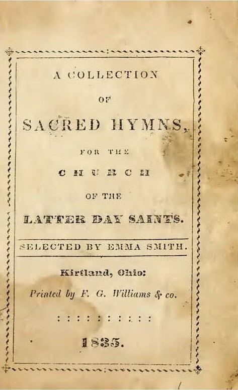 Collection of Sacred Hymns (Kirtland, Ohio) - Wikipedia