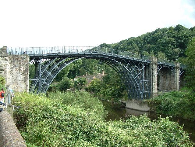 Iron Bridge - geograph.org.uk (UNESCO-Welterbe in Groß-Britannien)