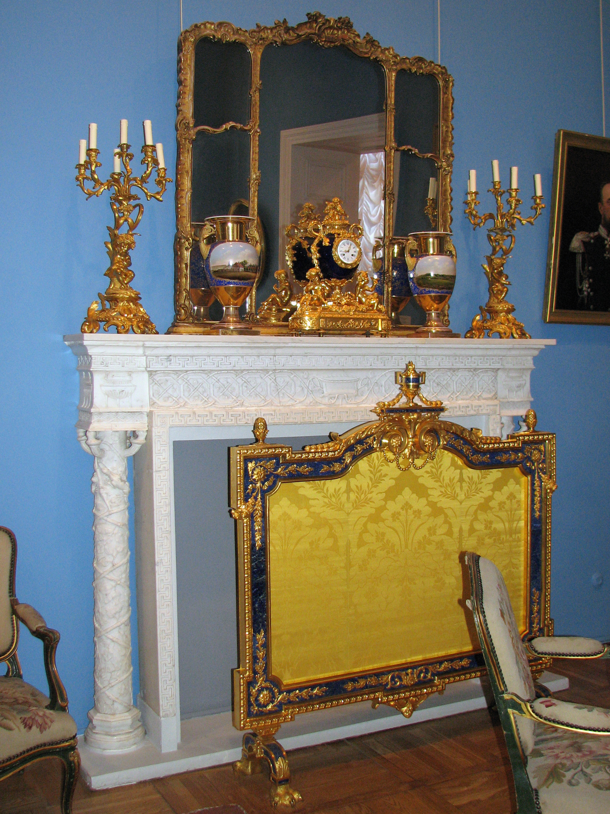 File Items From The Lyon Drawing Room Fireplace Screen 01 Jpg