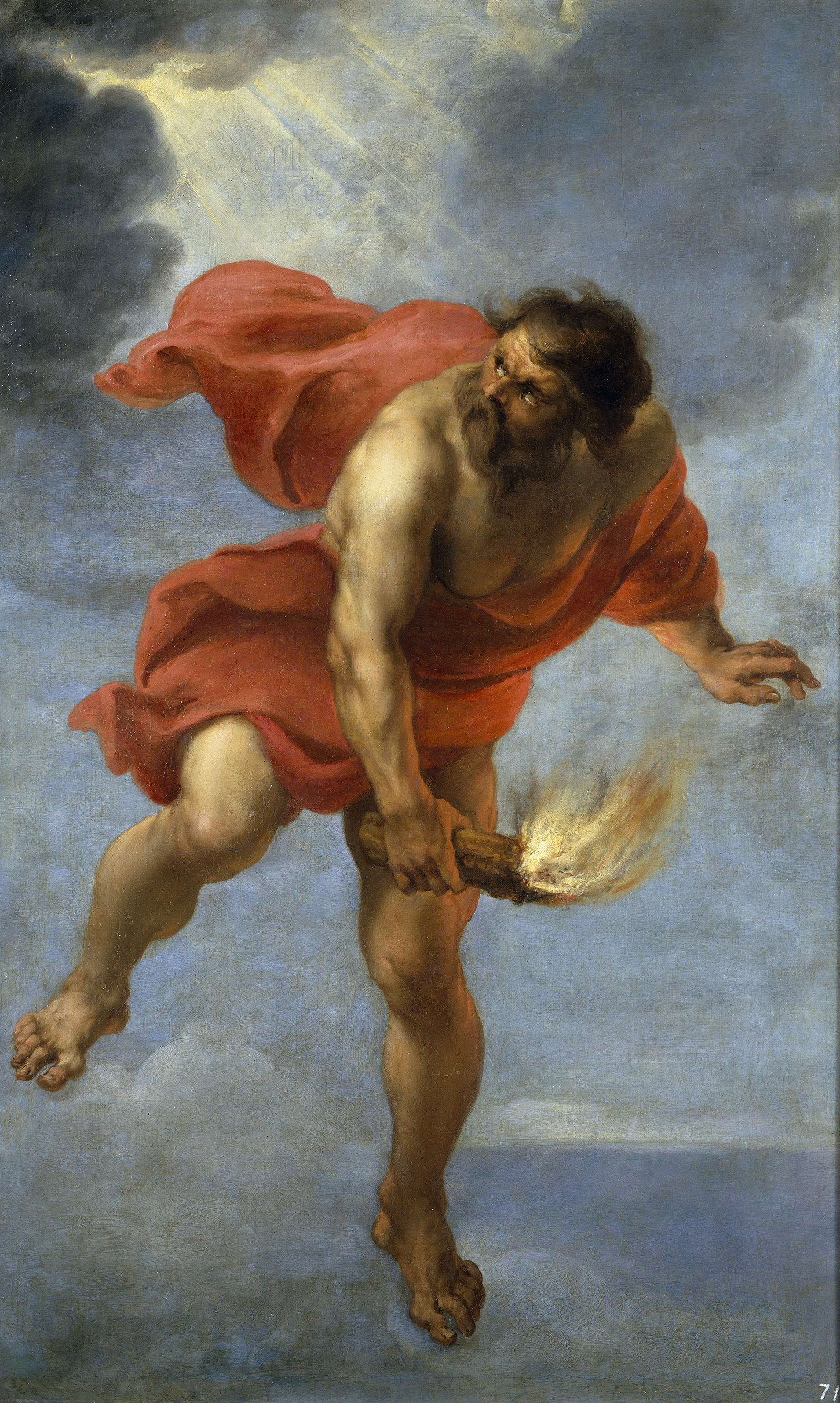 The Titan Prometheus in Greek Mythology