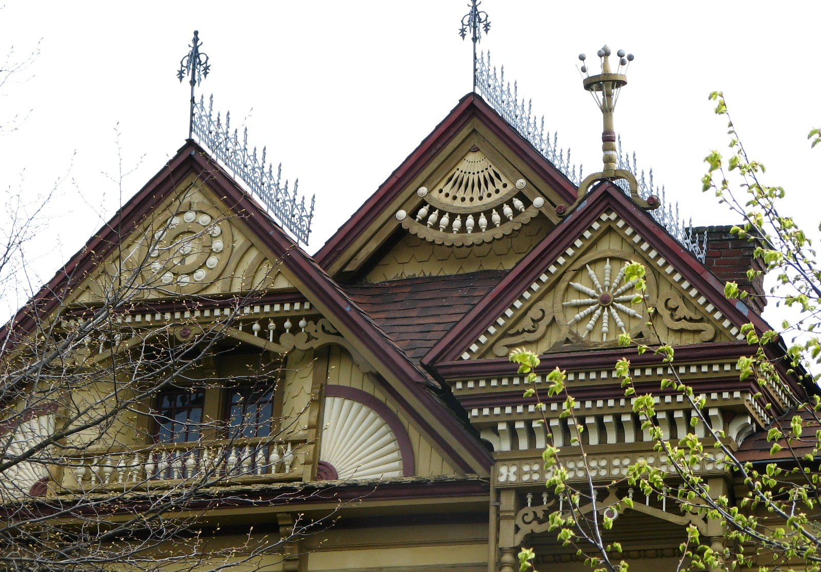 File John Palmer House Gable Detail Portland Oregon Jpg Wikimedia Commons