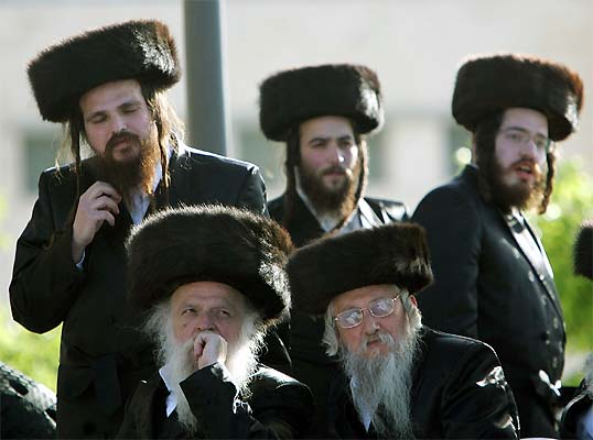 Resultado de imagen de fotos de ortodoxos judios