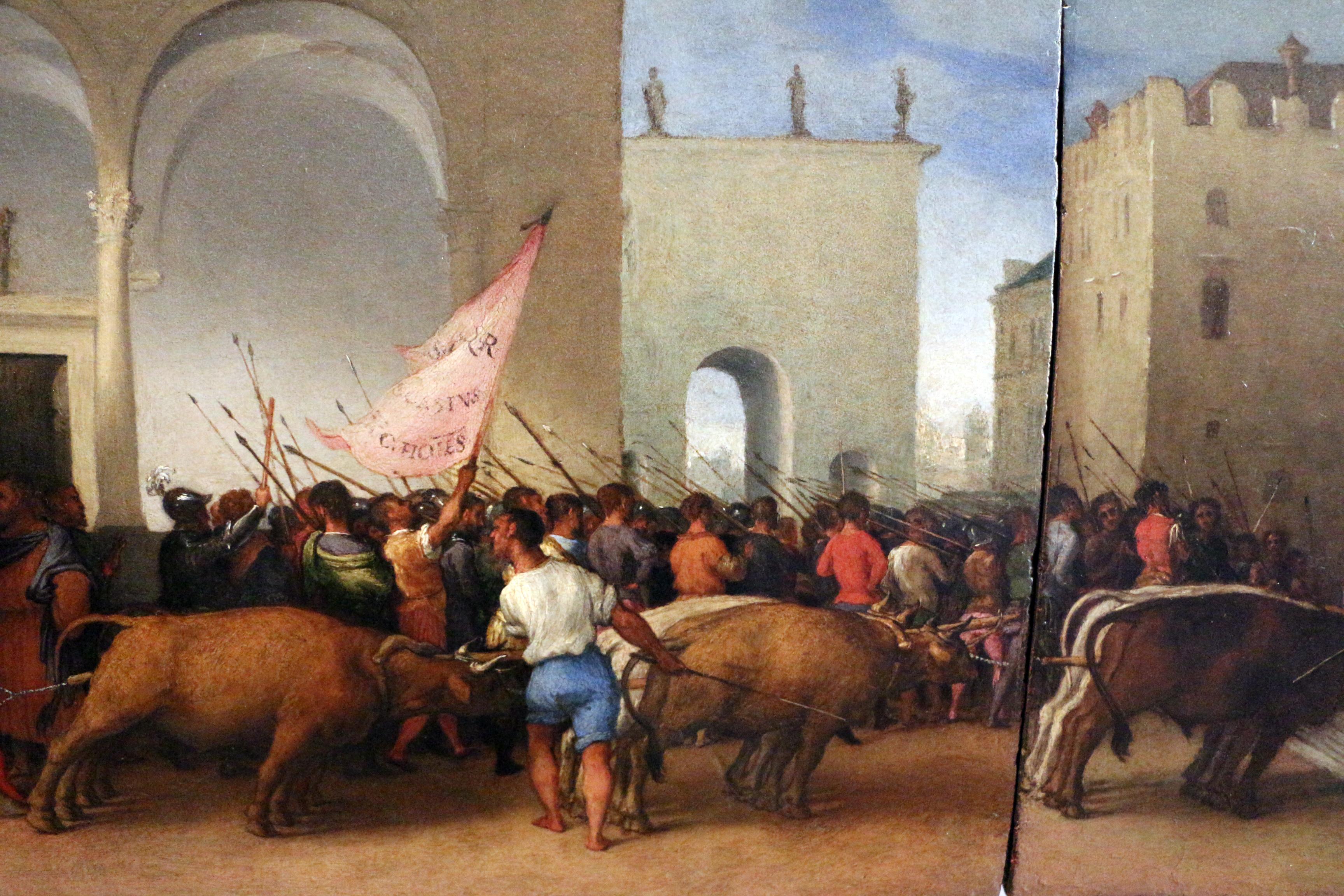 File:Lorenzo lotto, pala di santa lucia, 1523-1532, predela,