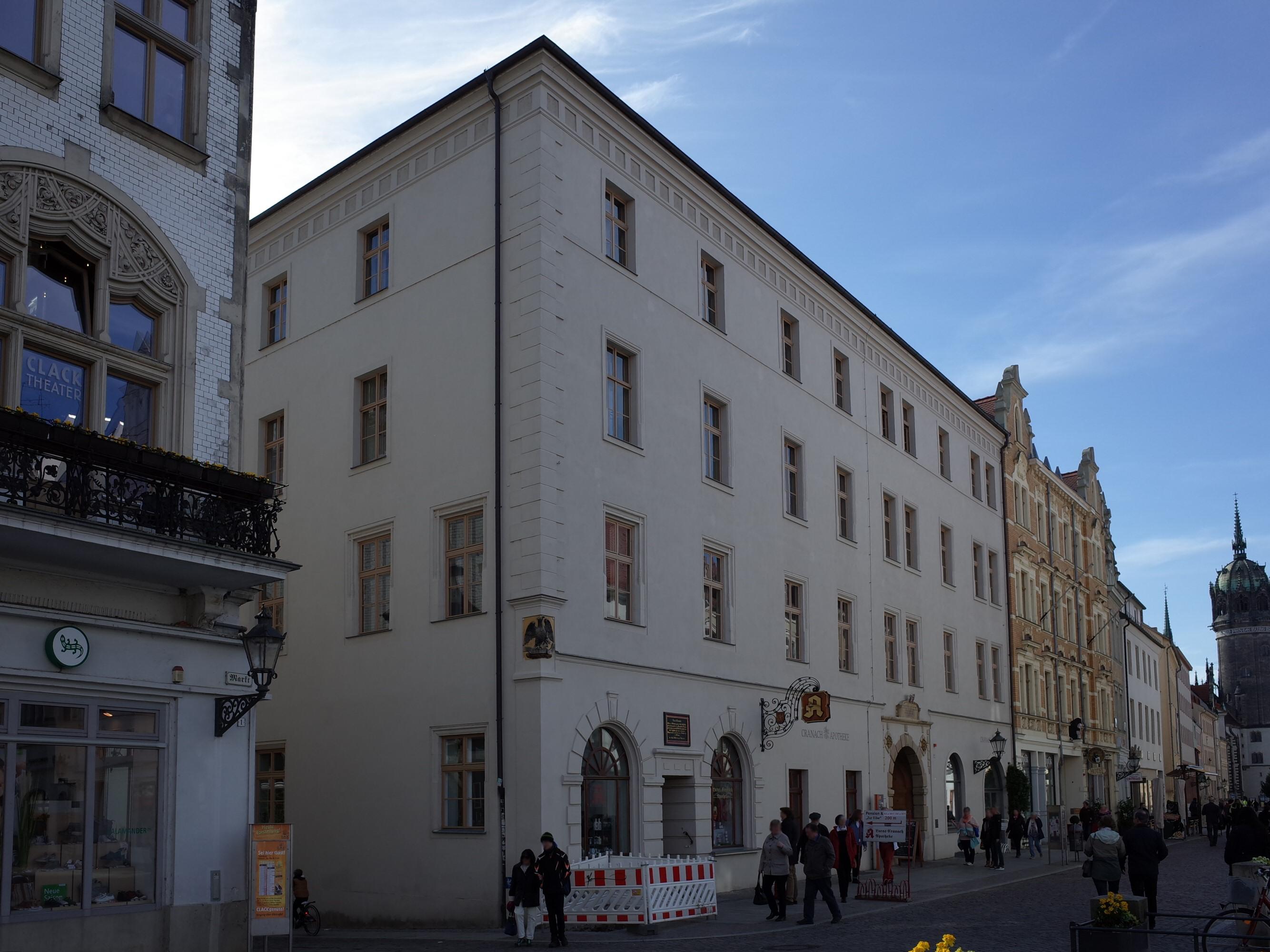 Lutherstadt Wittenberg,Schlossstraße 1,Cranach Apotheke.jpg