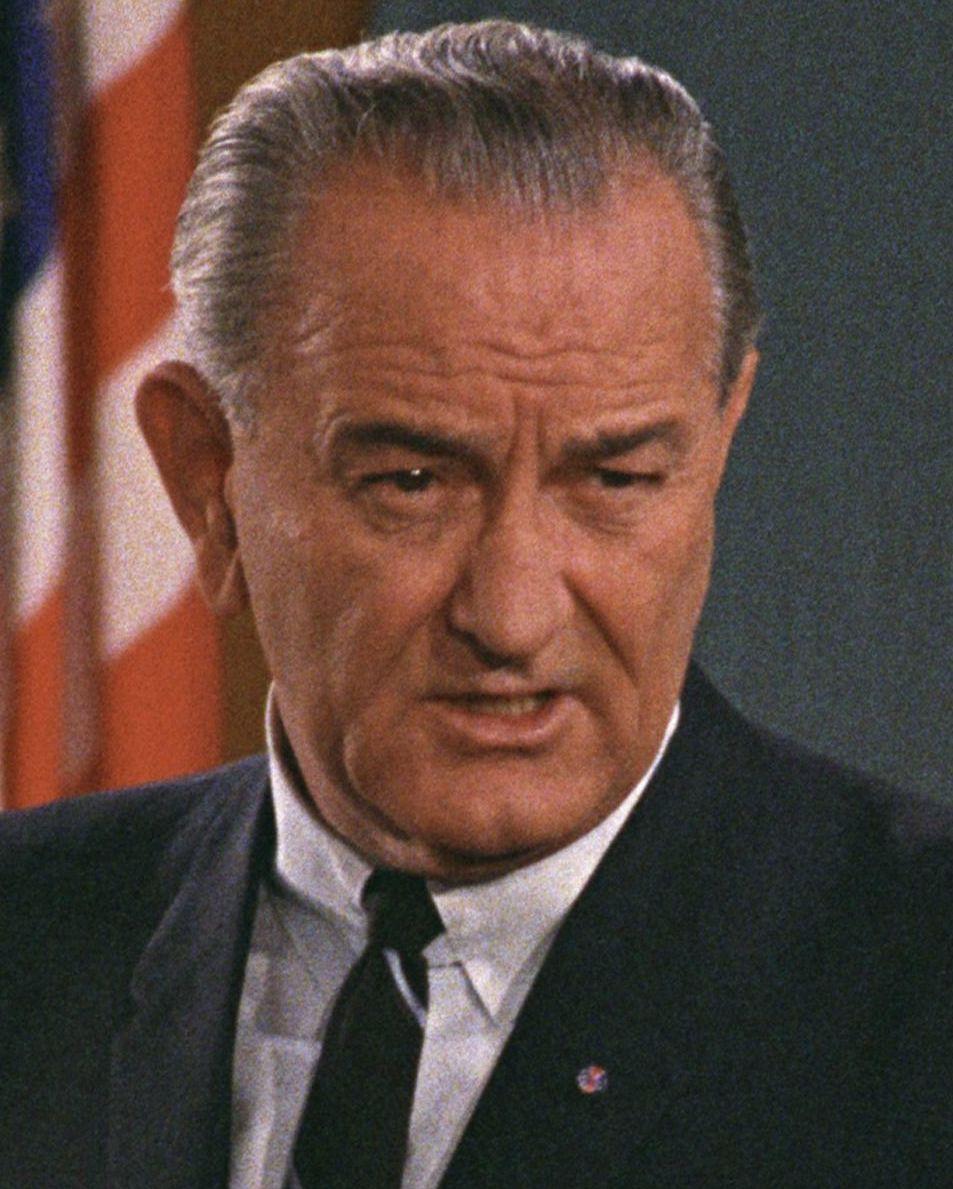 Lyndon Johnson East Room White House