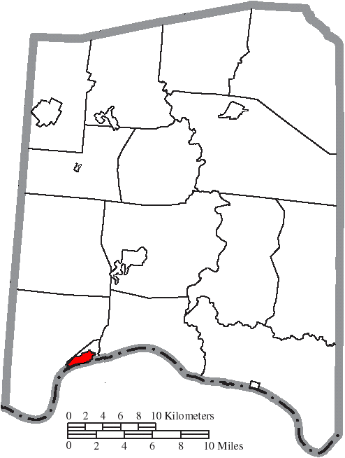 Manchester Ohio Map.File Map Of Adams County Ohio Highlighting Manchester Village Png