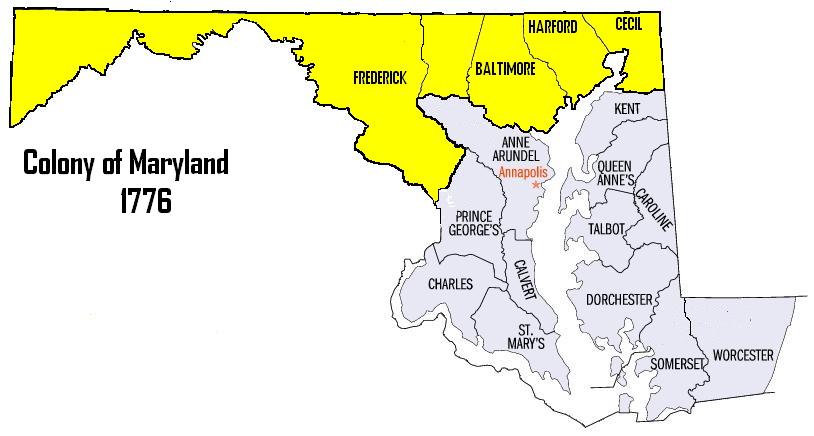 FileMap Of Maryland Northern CountiesPNG