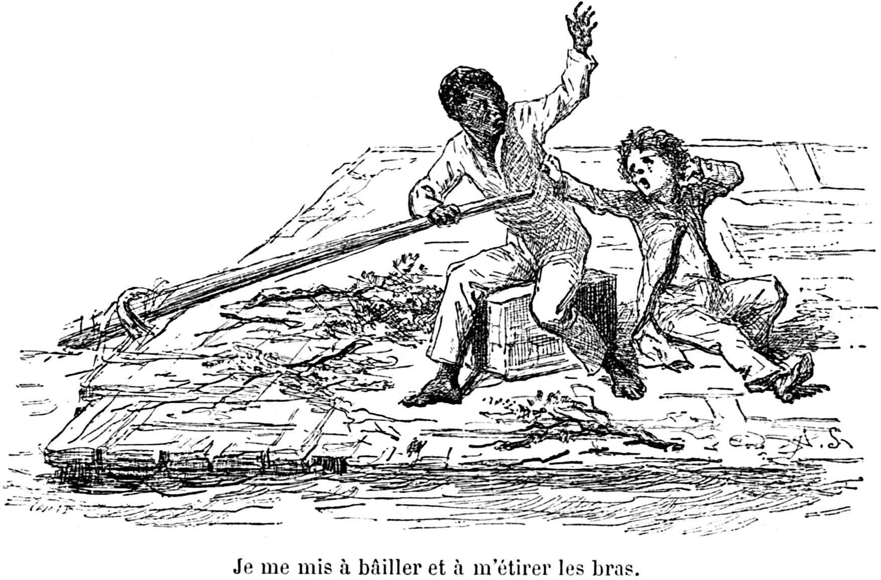 an analysis of the satirical plot in huckleberry finn An analysis of mark twain's the adventures of huckleberry finn - an analysis of mark  of twain's satirical pen in adventures of huckleberry  plot of this novel.