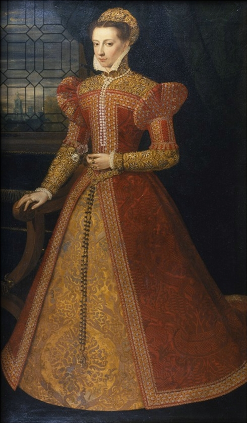 file mary queen of scots by federico zuccari or alonso sánchez