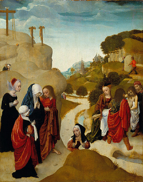 a history of the entombment of christ Juan rodríguez juárez was a versatile artist who excelled as a painter of altarpieces as well as portraits and small devotional works such as the entombment of christ.