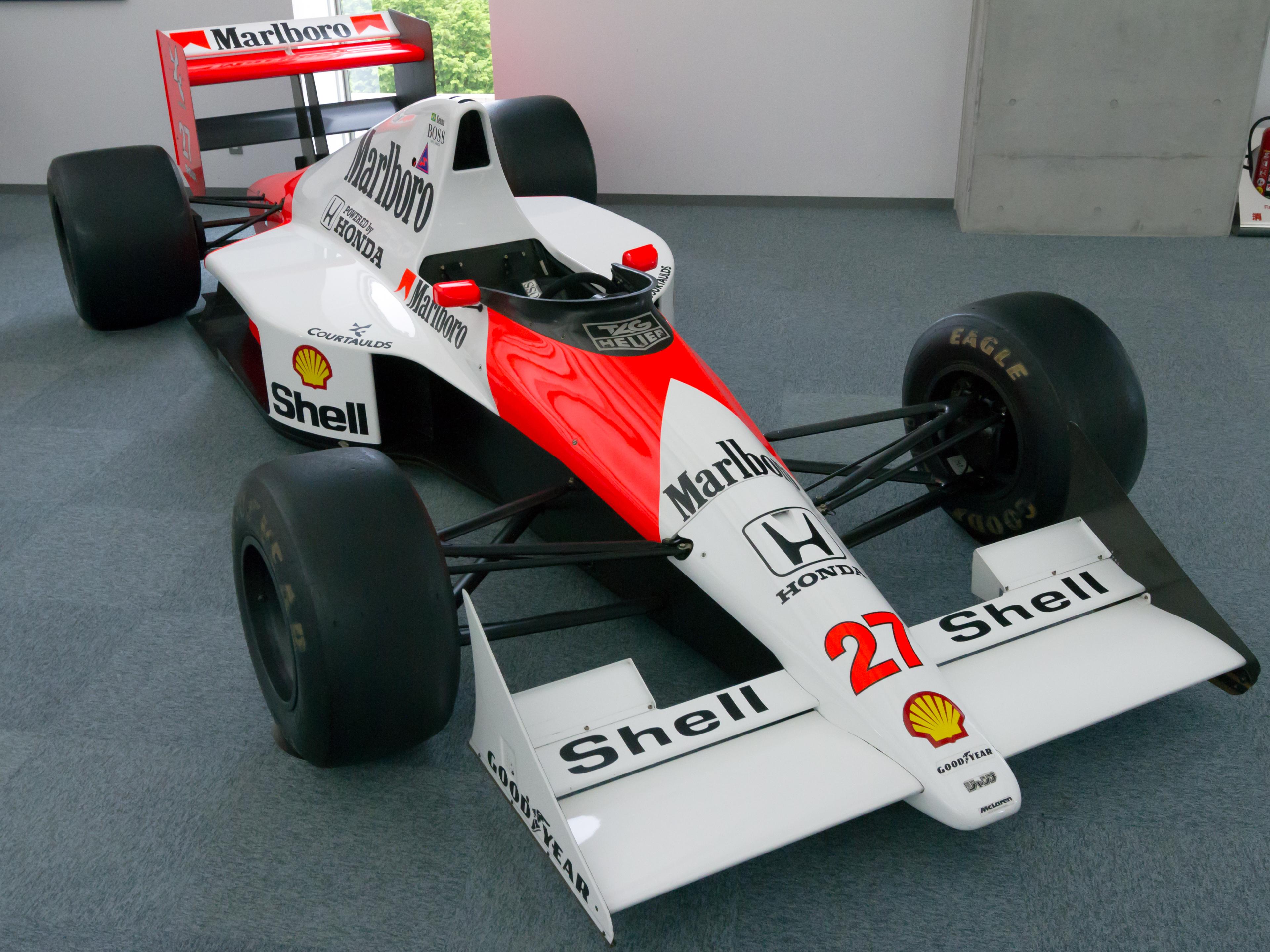 Mclaren Honda Mp4 5b