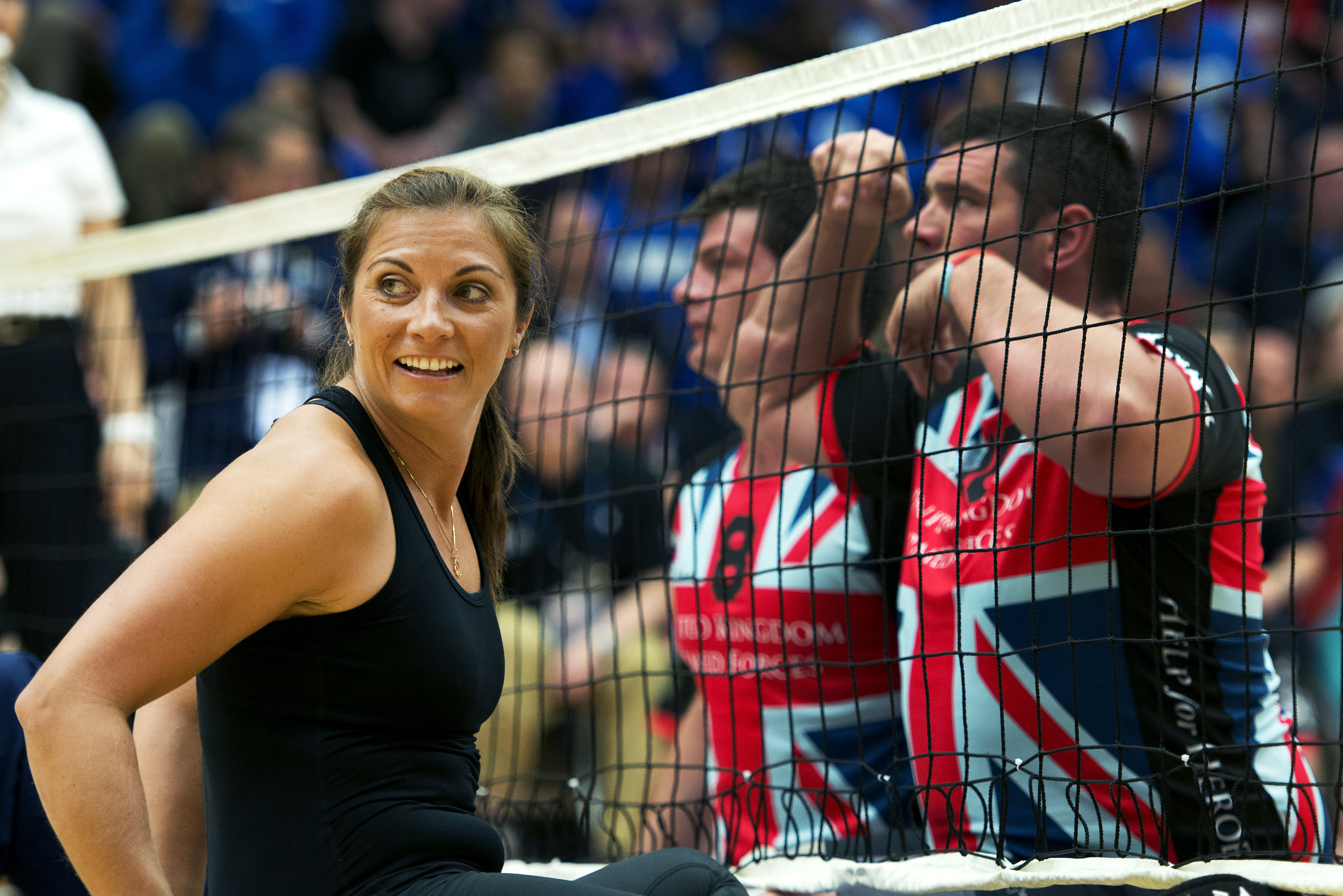 filemisty may treanor plays sitting volleyball with wounded warriors prince harry 130511
