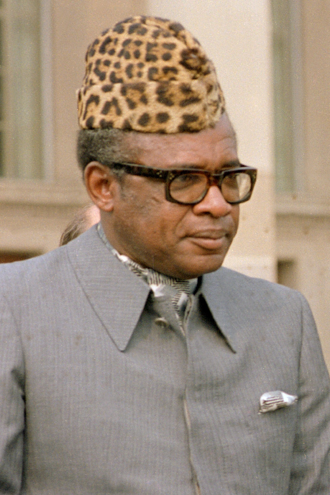 Image result for mobutu sese seko exiled from zaire