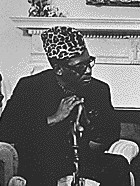 Mobutu à Washington en 1973