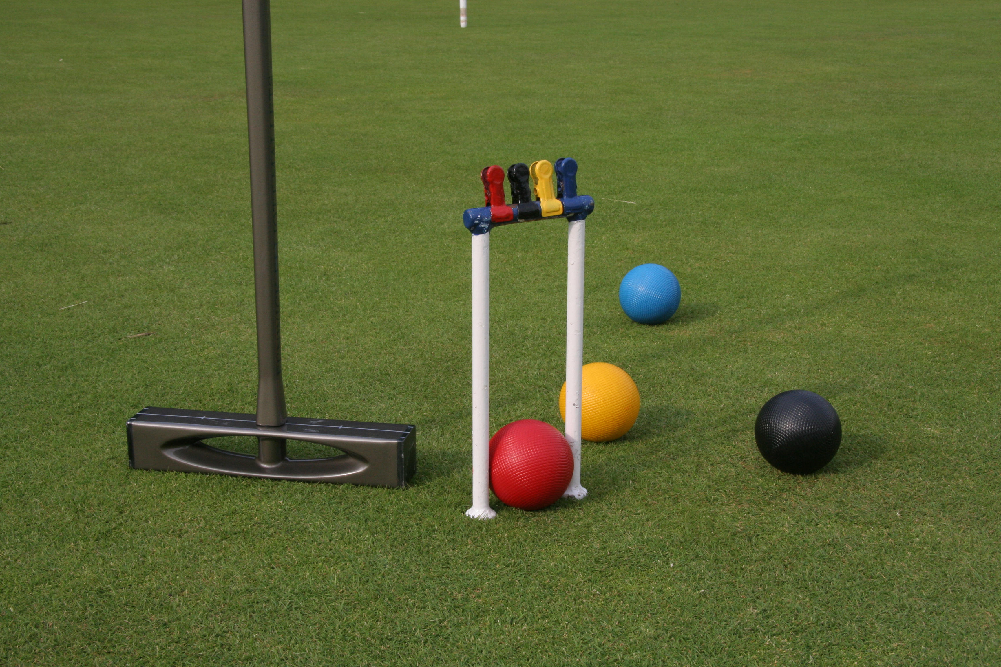Crocheting Equipment : File:Modern croquet equipment.JPG - Wikipedia, the free encyclopedia