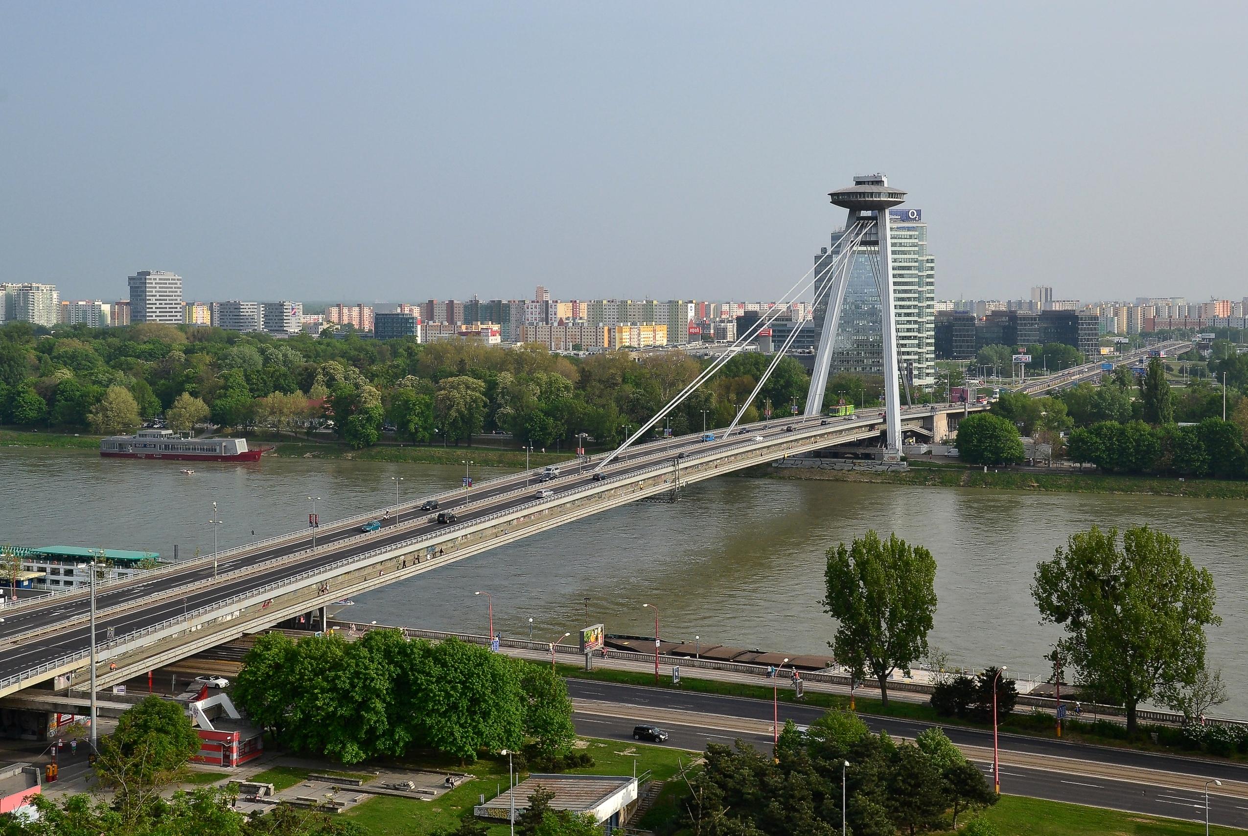 Авто-факт: Мост СНП - самый уникальный мост в Братиславе (видео)