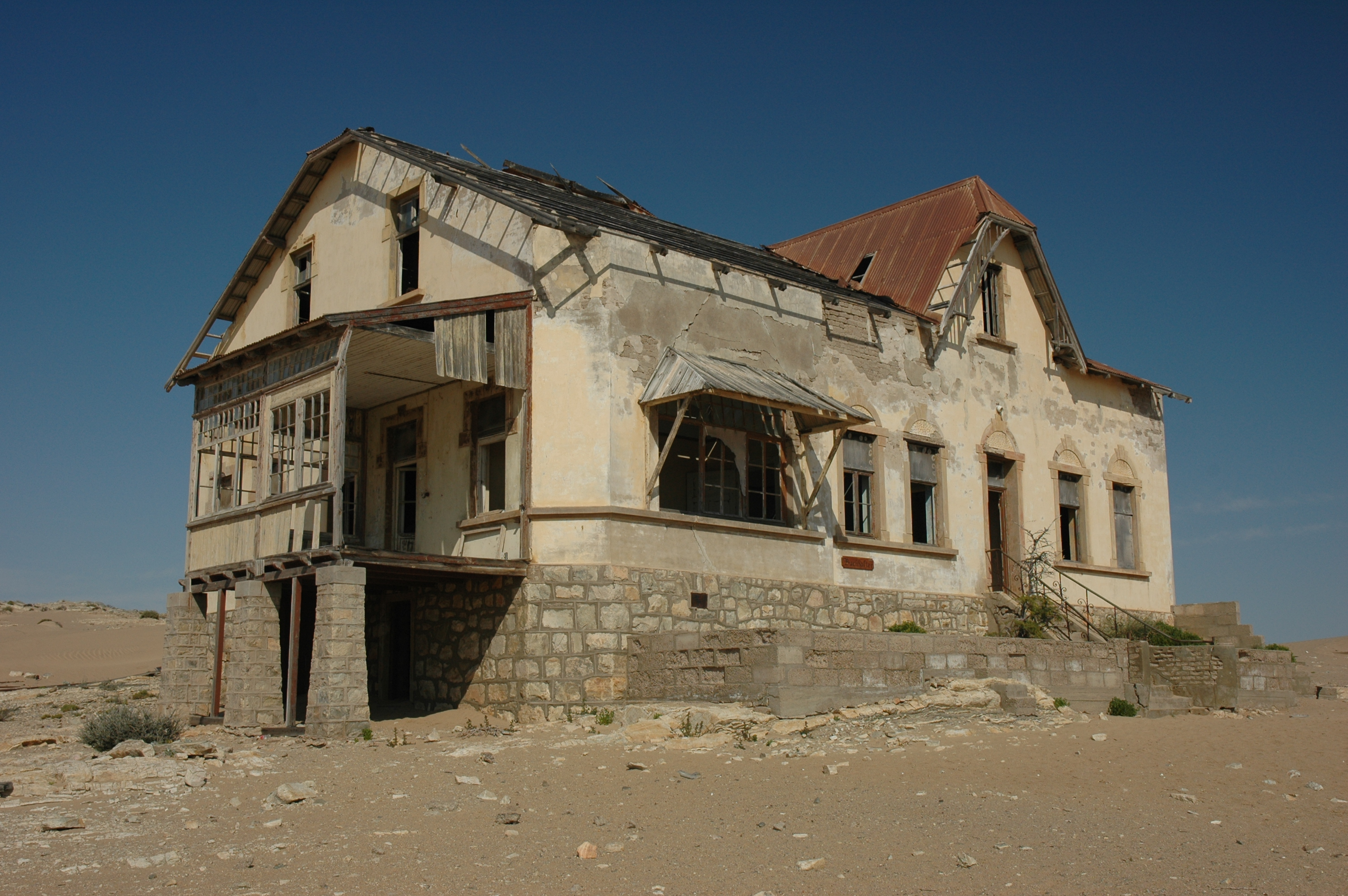 kolmanskop a ghost town devoured by the namibian desert