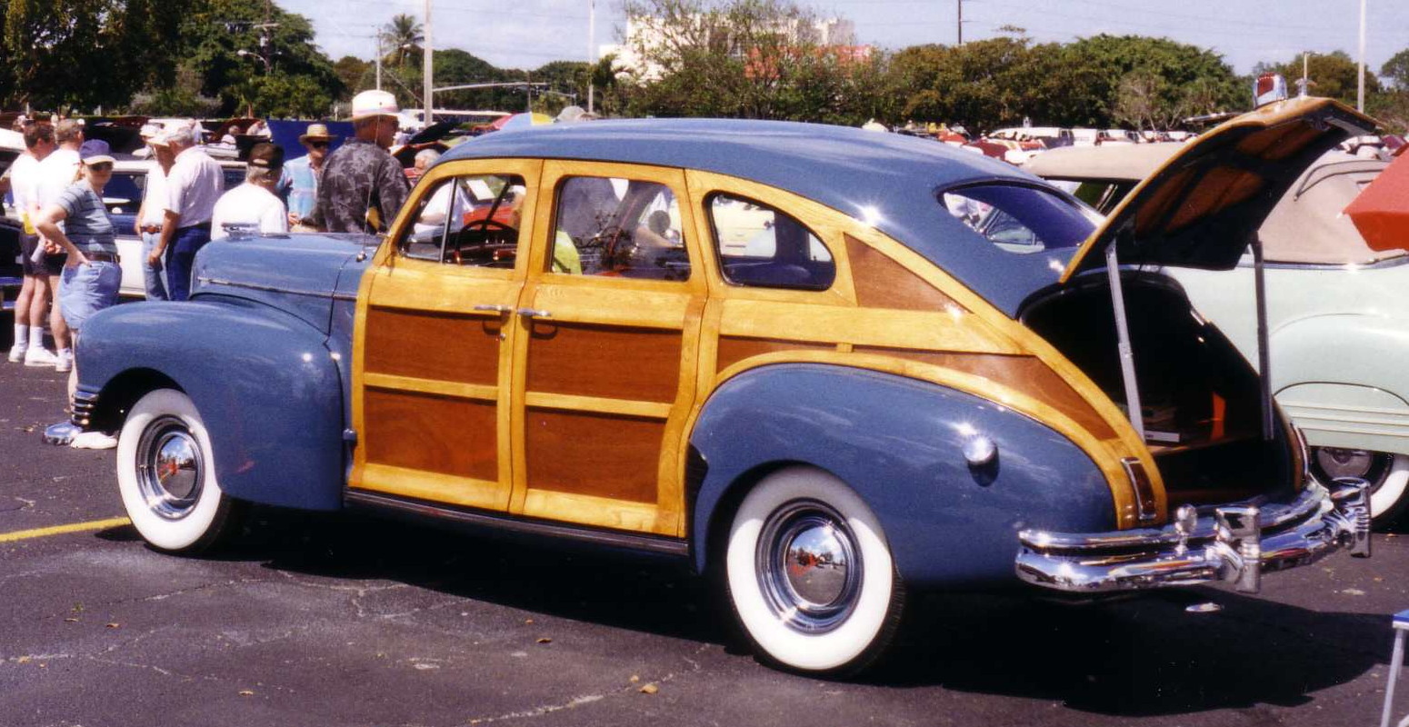 1934 Ford Station Wagon Woodie Phantom - Worldnews.com