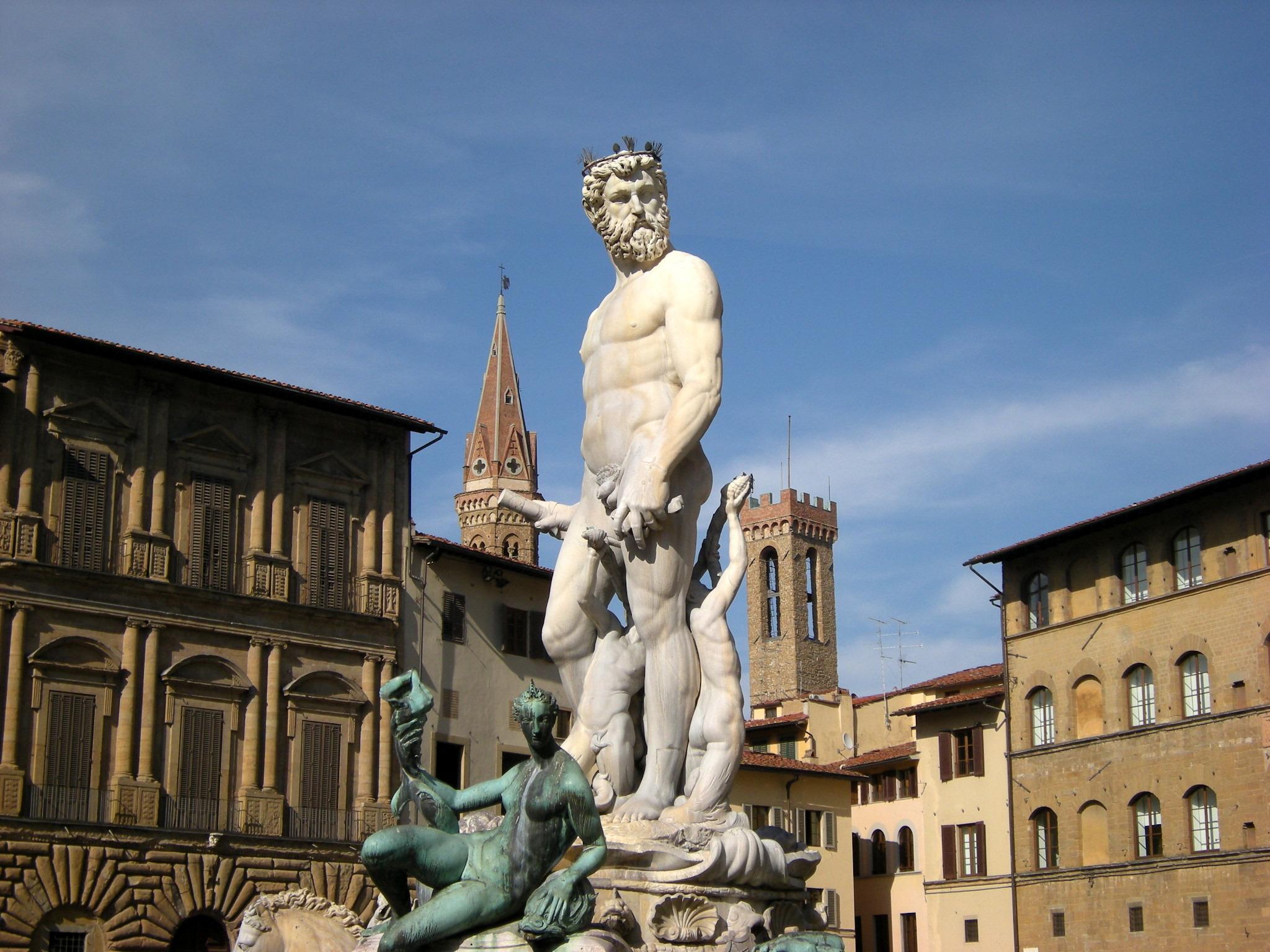 Bartolomeo Ammannati, Fontana del Nettuno, Piazza della Signoria, Firenze