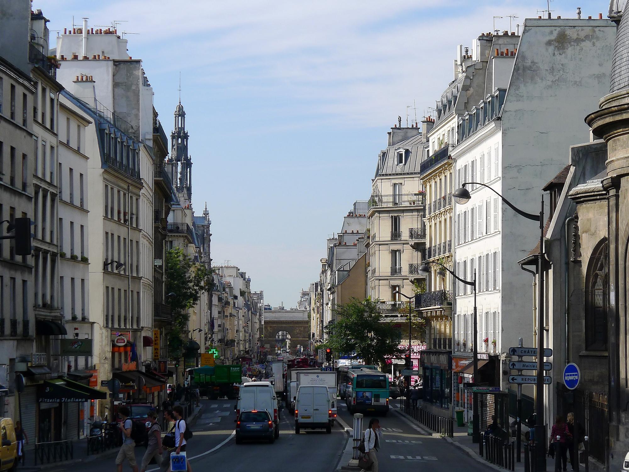 File p1040693 paris x rue du faubourg saint martin wikimedia commons - Paris rue du faubourg saint antoine ...