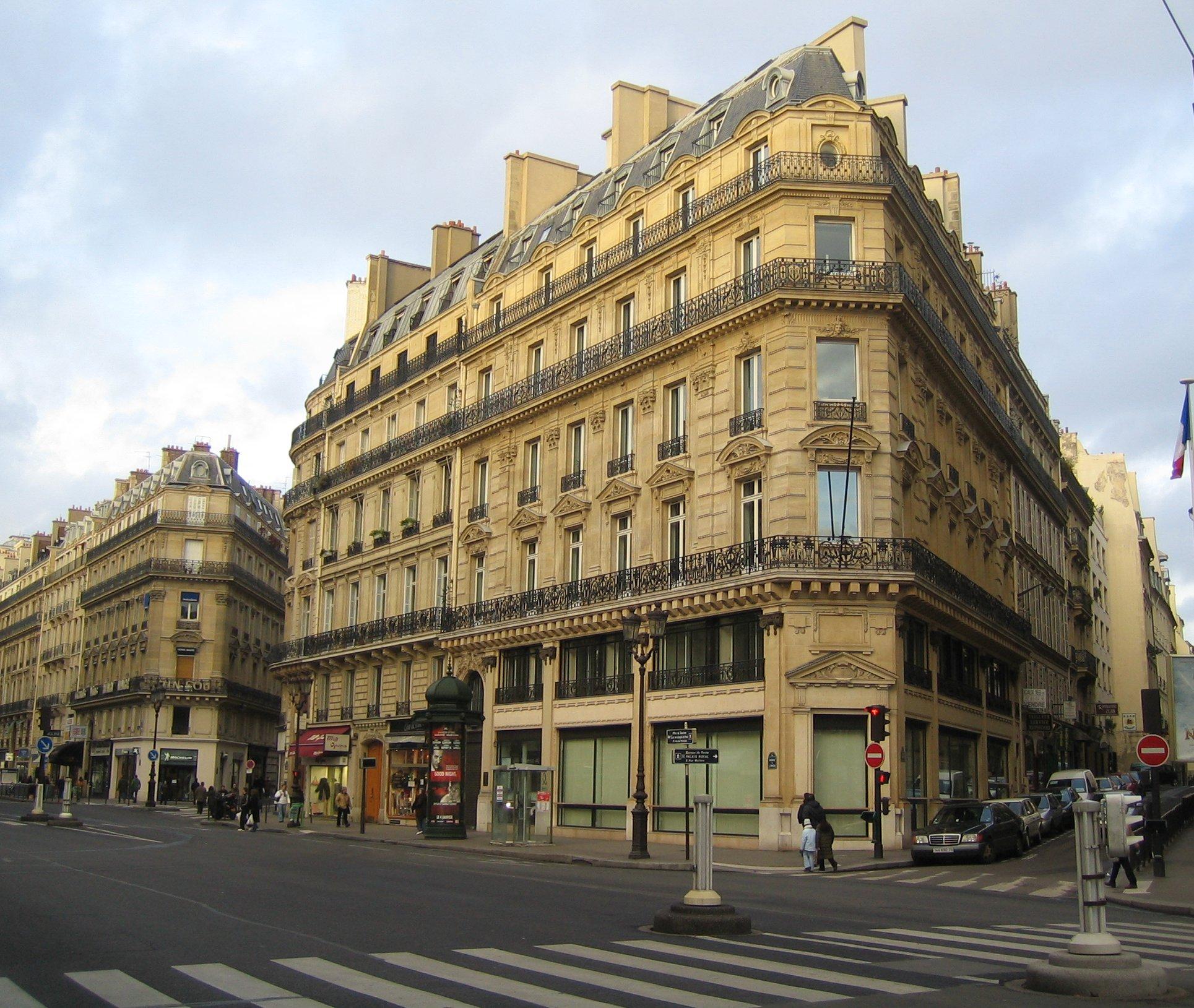 Immeuble Haussmannien Avenue Opéra