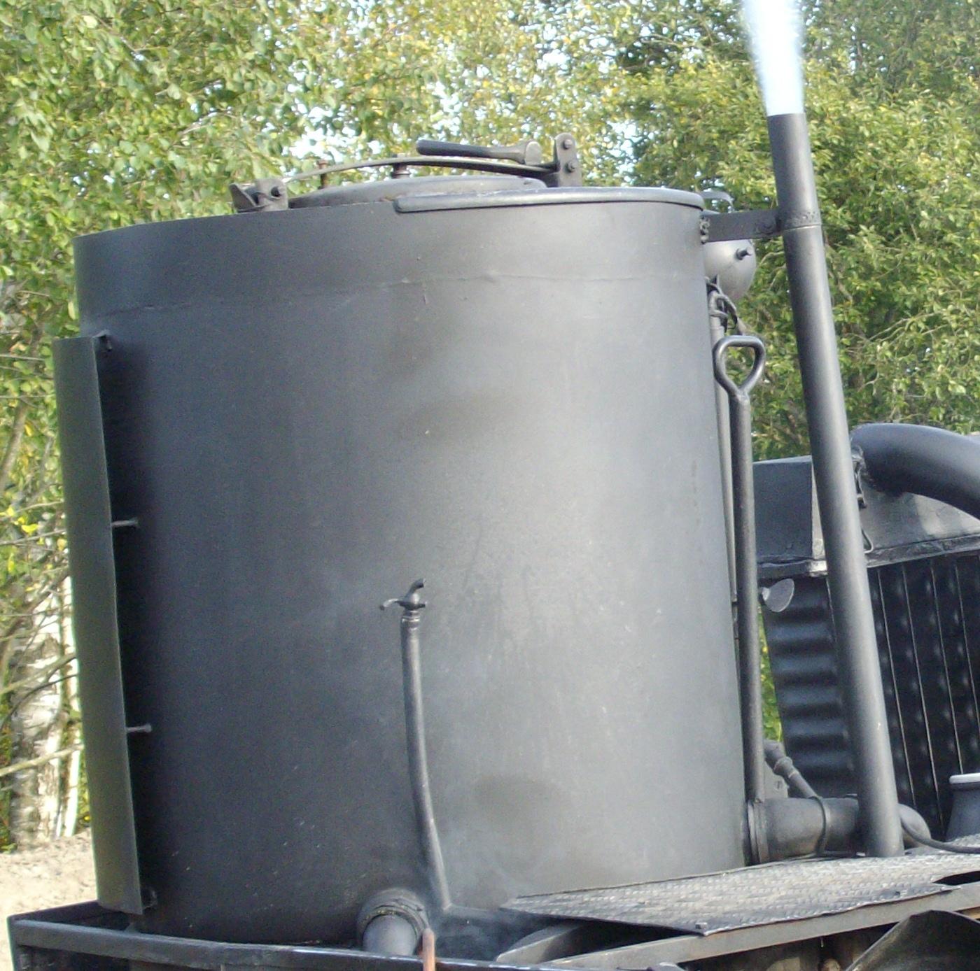 Wood Gas Generator >> Tiedosto Part Of Wood Gas Generator Jpg Wikipedia