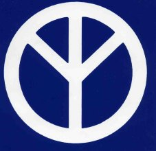 Peace Symbol representing a tree of life.
