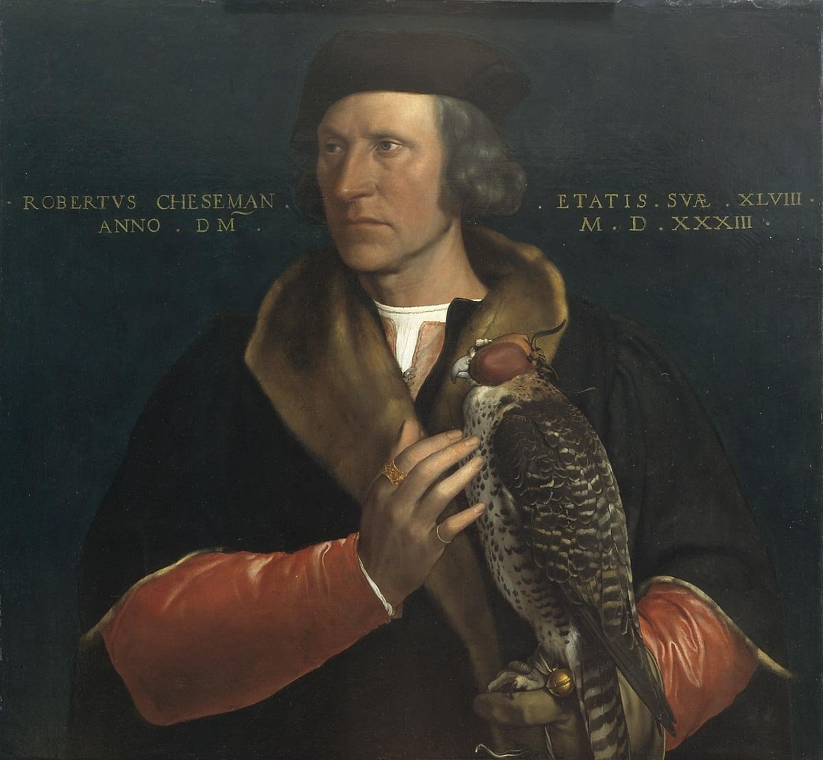 File:Portrait of Robert Cheseman (1485-1547) by Hans Holbein (II
